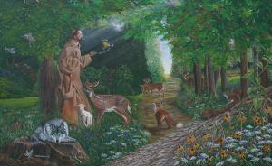 st-francis-of-the-wood-joanne-castelli-castor
