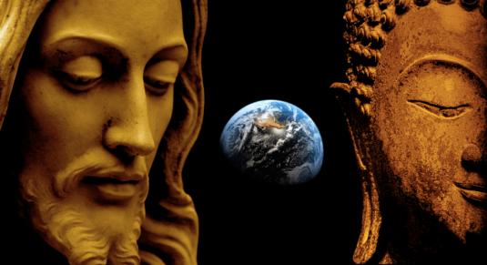 Jezus en Buddha