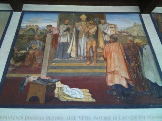 Franciscus neemt afstand van alle bezit