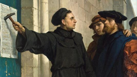 Martin Luther 500 jaar Reformatie